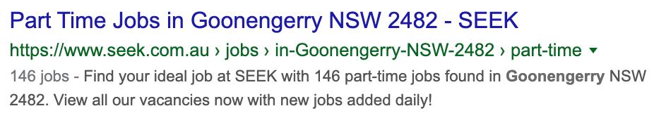 goonengerry jobs