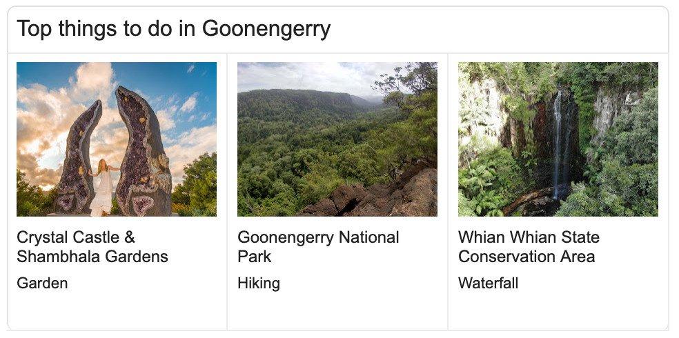 goonengerry things to do