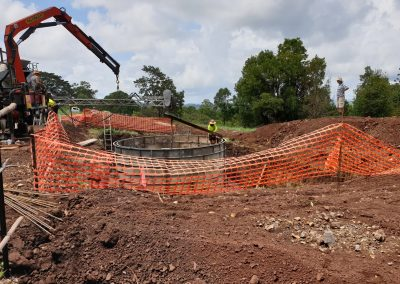 Building water tanks