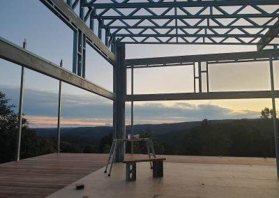 Aug 8 - Heavy window frames