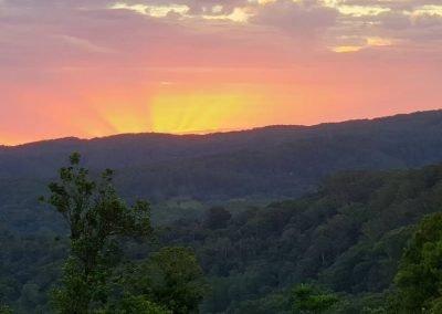 Jan 22 - Evening sunset
